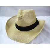36 Units of Fashion Western Cowboy Hat( Assorted Colors) - Cowboy & Boonie Hat