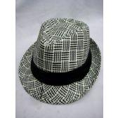 36 Units of Fashion Straw Fedora Hat