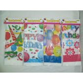 """144 Units of 54x108"""" Birthday Table Covers - Table Cloth"""