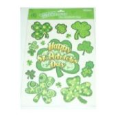 108 Units of St Patrick's Win Cling - St. Patricks