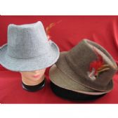 36 Units of Fashion Fedora Hat Gray Color Only