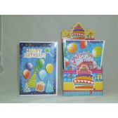 192 Units of Disp Box 3D Birthday Cards - Party Misc.