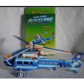 60 Units of 3d plane puzzles (4 styles available) - PUZZLES