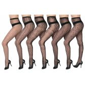 120 Units of Womens Sexy Fishnet Pantyhose - Queen Size