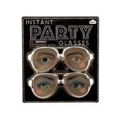 72 Units of 2pk party glasses - Novelty & Party Sunglasses