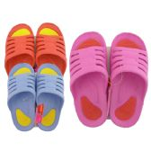 48 Units of Ladies 2 Tone Slippers