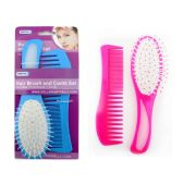 96 Units of HAIRBRUSH AND COMB PACKING - Hair Items