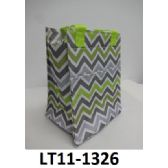 48 Units of Lunch Tote Zip Top Closure Insulated Inside Front Velcro Pocket Double Handles - Cooler & Lunch Bags