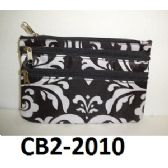 100 Units of Coin Purse Two Front Zip Pockets Fully Lined Zip Top Closure - Leather Purses and Handbags