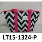 48 Units of Lunch Tote Three Outside Pockets Insulated Inside Zip Top Closure - Cooler & Lunch Bags