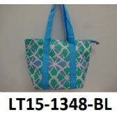 48 Units of Lunch Tote Three Outside Pockets Insulated Inside Zip Top Closure - Lunch Box