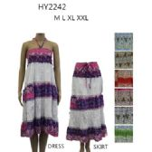 48 Units of Ladies Summer Sun Dress Or Skirt Assorted Styles - Womens Sundresses & Fashion