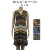 48 Units of Womens Summer Short Sun Dress Assorted Colors - Womens Sundresses & Fashion