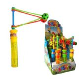 60 Units of BUBBLE WITH SOCCER CLACKER WAND - Bubbles