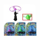 108 Units of LITE UP FLYING SAUCER - Novelty Toys