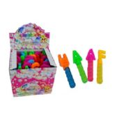 120 Units of BUBBLE ALPHABET STICK - Bubbles