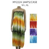 48 Units of Woman's Summer Dress Assorted Colors And Size - Womens Sundresses & Fashion