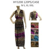 48 Units of Woman's Fashion Long Summer Dress - Womens Sundresses & Fashion
