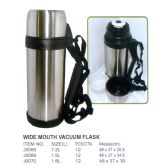 12 Units of 1.2L WIDE MOUTH VACUUM FLASK - Kitchen