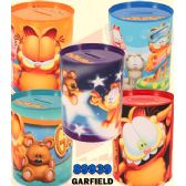 48 Units of Garfield Money Tin Cans - Coin Holders/Banks/Counter