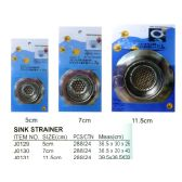 144 Units of SINK STRAINER SMALL - Plumbing Supplies