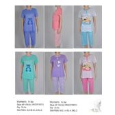 72 Units of Ladies 2 Piece Summer PJ Set