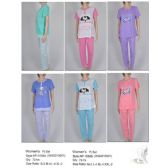 72 Units of Ladies 2 Piece Summer PJ Set - Ladies Lingerie & Sleep Wear