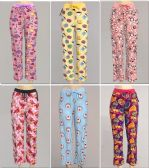 72 Units of Women's Assorted Print PJ Pants, Size S-XL - Women's Pajamas and Sleepwear