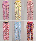 72 Units of Women's Assorted Print PJ Pants Plus Size, M-2XL - Women's Pajamas and Sleepwear