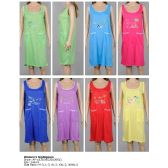 72 Units of Ladies Sleeveless Summer NIghtgown Assorted Styles
