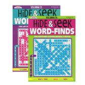 48 Units of KAPPA Hide & Seek Word Finds Puzzle Book - Dictionary & Educational Books