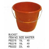 40 Units of BUCKET 15 L - Buckets & Basins