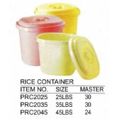 24 Units of 45 L RICE CONTAINER