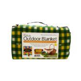 6 Units of Soft Fleece Foldable Outdoor Blanket