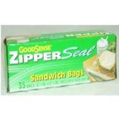 "96 Units of ""GOODSENSE"" Sandwich Bags - Food Storage Bags"