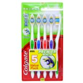 24 Units of Colgate ToothBrush Premier White 5pk - Toothbrushes and Toothpaste