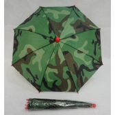 60 Units of Umbrella Hat [Camo] - Umbrella