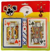 36 Units of 2pc Playing Card with Dice - PLAYING CARDS/DICE/POKER