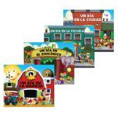 96 Units of Un Dia en .. Libro de Pasta Gruesa - Educational Toys
