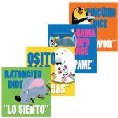 96 Units of Hola Genio - Modales Libro de Pasta Gruesa - Educational Toys