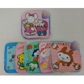 72 Units of 4pc Child's Printed Wash Cloth - Baby Beauty& Care Items