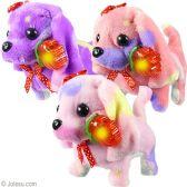 48 Units of Walking Dogs w/ Light Up Rose & Sound - Light Up Toys
