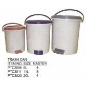 8 Units of 20 L TRASH CAN - Waste Basket