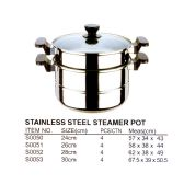 4 Units of 28 CM STEAMER POT - Pots & Pans