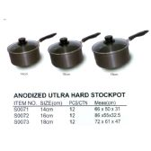 12 Units of ANODIZED STOCKPOT 16 CM - Pots & Pans
