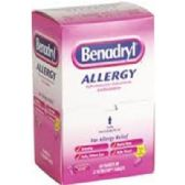 120 Units of Benadryl Allergy Pill - Health / Beauty