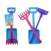 48 Units of Sand Play Set 3pc - Beach Toys