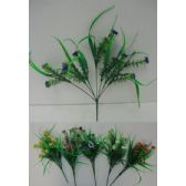 144 Units of 7 Stem Plastic Flower