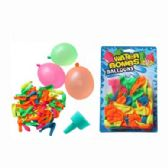 60 Units of WATER BALLOON WITH FUNNEL 24PCS
