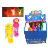 72 Units of MILEY FACE LIGHT UP BUBBLES 12PC/DIS - Bubbles